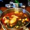 韓国風料理三昧(その2:かみさんの豆腐チゲ、サムギョプサル)