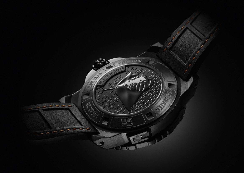 Carl F. Bucherer Patravi ScubaTec Black Manta Special Edition