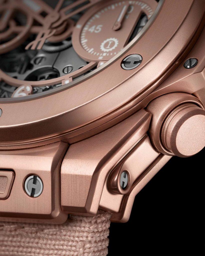 The Hublot Big Bang Chronograph Millennial Pink