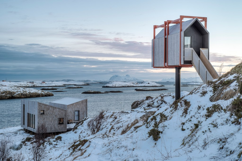 Hotels under the Arctic Sky