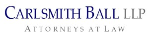 Carlsmith Ball LLC Patron Sponsor for the 2012 Noble Chef