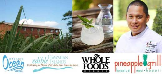 Ocean Vodka Distillery Dinner Auction Package 2012 Noble Chef Benefit to Support Maui Culinary Academy