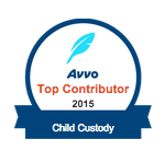 AVVO TOP CONTRIBUTOR CHILD CUSTODY BADGE
