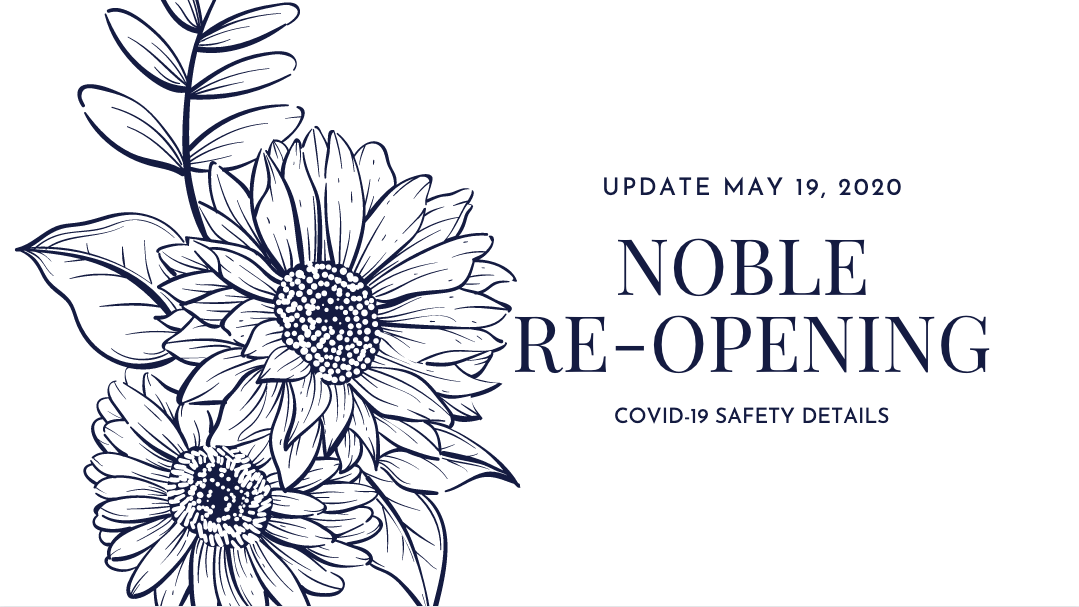 The re-opening of Noble Naturopathic