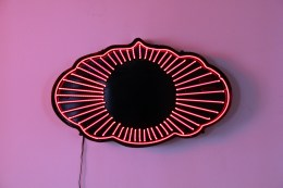 Sign designed by Noel Hennessy for House of Small Wonder, Brooklyn. 2010 All neon work and construction by Cedar Mannan