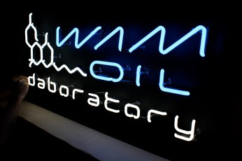 Sign made for WAM Collective