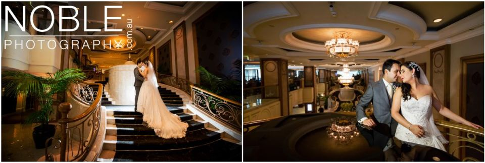Langham Hotel Wedding Photographs