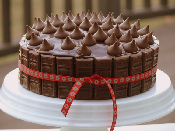 The Best Yellow Birthday Cake With Chocolate Icing