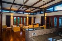 Four Pavilion Home, Soqulu, Taveuni Estates, Fiji - Main Living Area