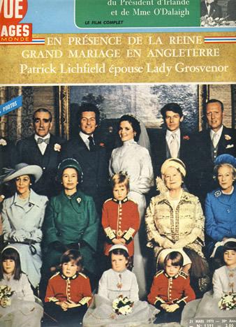 Histoire De La Famille Royale D Angleterre : histoire, famille, royale, angleterre, Archives, Famille, Royale, Britannique, Mariage, Lichfield, Noblesse, Royautés