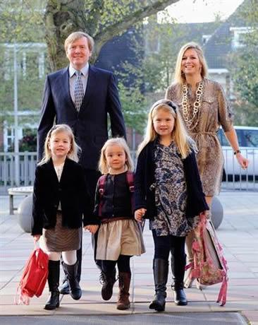 Ariane Des Pays-bas : ariane, pays-bas, Premier, D'école, Princesse, Ariane, Pays-Bas, Noblesse, Royautés