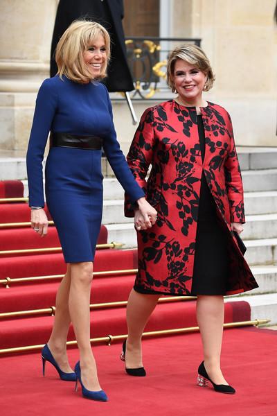Taille De Brigitte Macron : taille, brigitte, macron, Maria, Teresa, Luxembourg, Brigitte, Macron, Attention, Marches, Noblesse, Royautés
