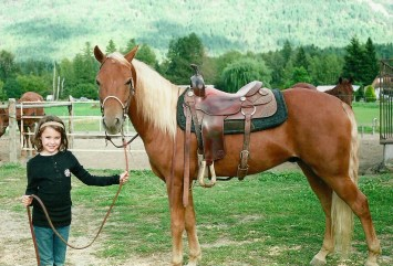 Abby McCluskey with Noble-T Remington