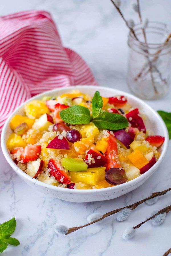 Salade de Fruit et Quinoa