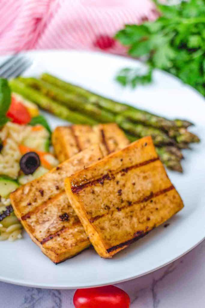 Tofu Grillé à la méditerranéenne