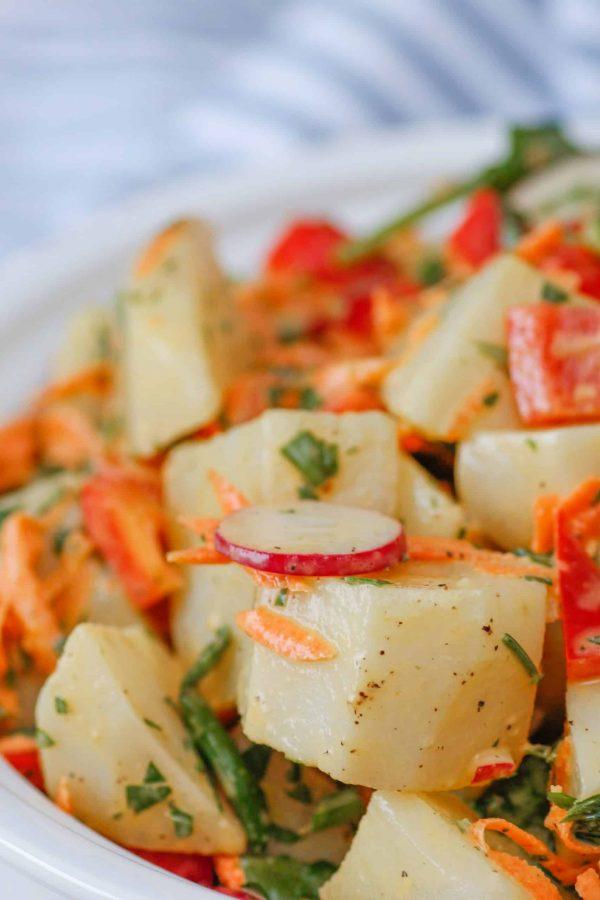 Salade de Patates Bien Garnie