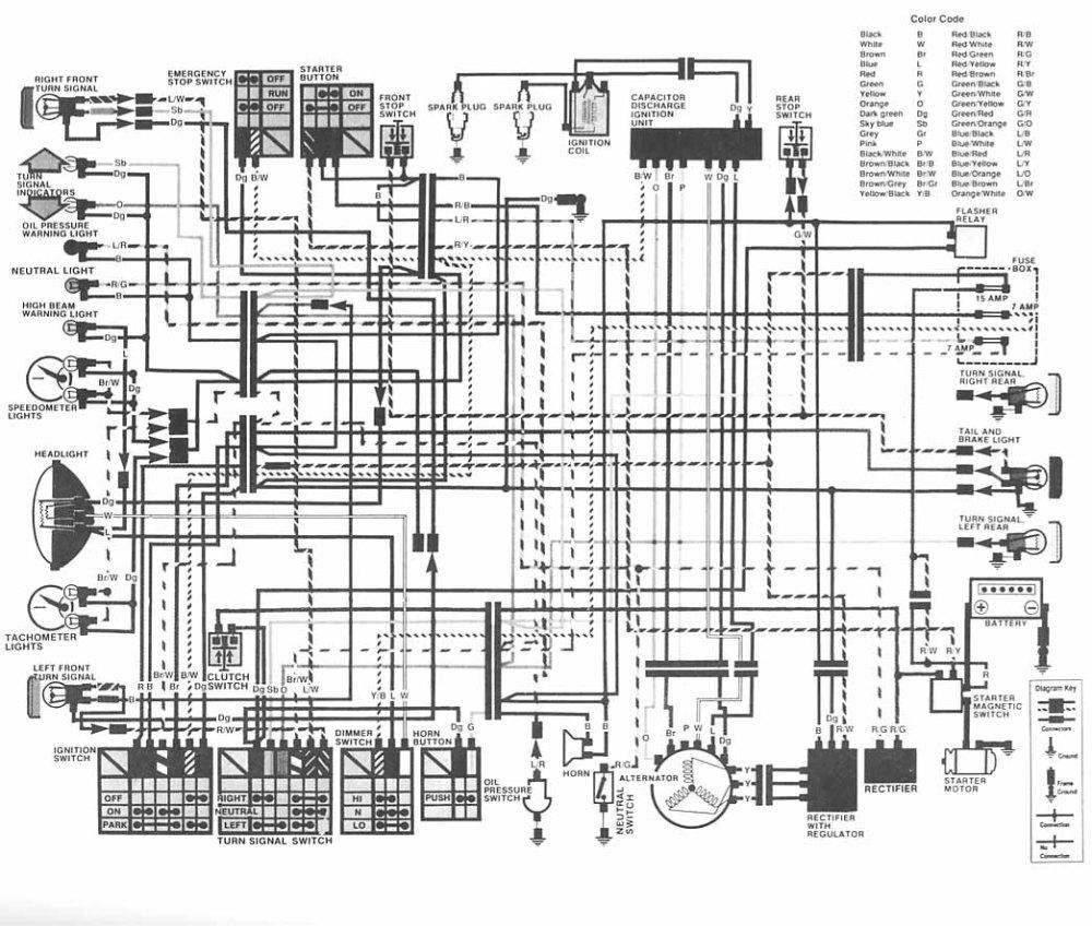 medium resolution of honda cm400 wiring diagram wiring diagram imp cm400 wiring diagram cm400 wiring diagram