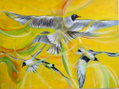 10. Yellow Sky Gulls