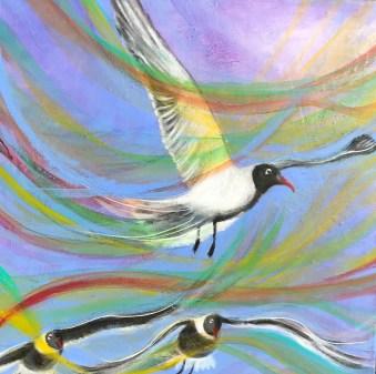 11. Blue Sky Gulls
