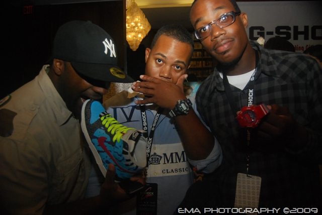 Mike (YUME), TTK and Andre Clarke