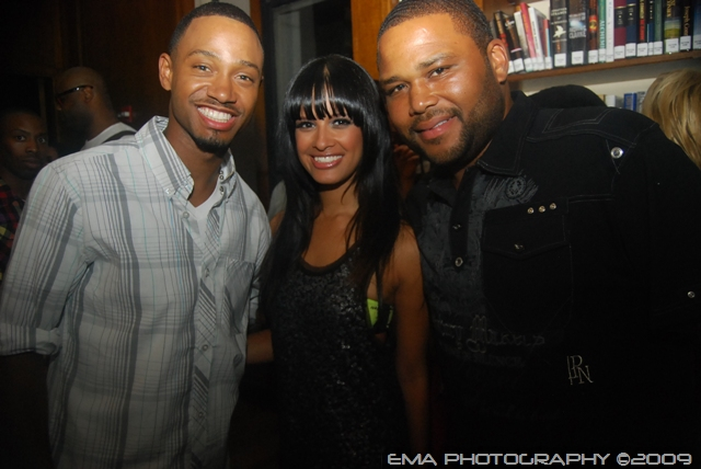 Terence J, Rocsi and Anthony Anderson