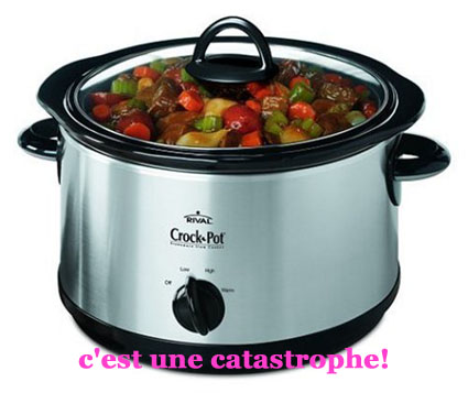 crock pot catastrophe