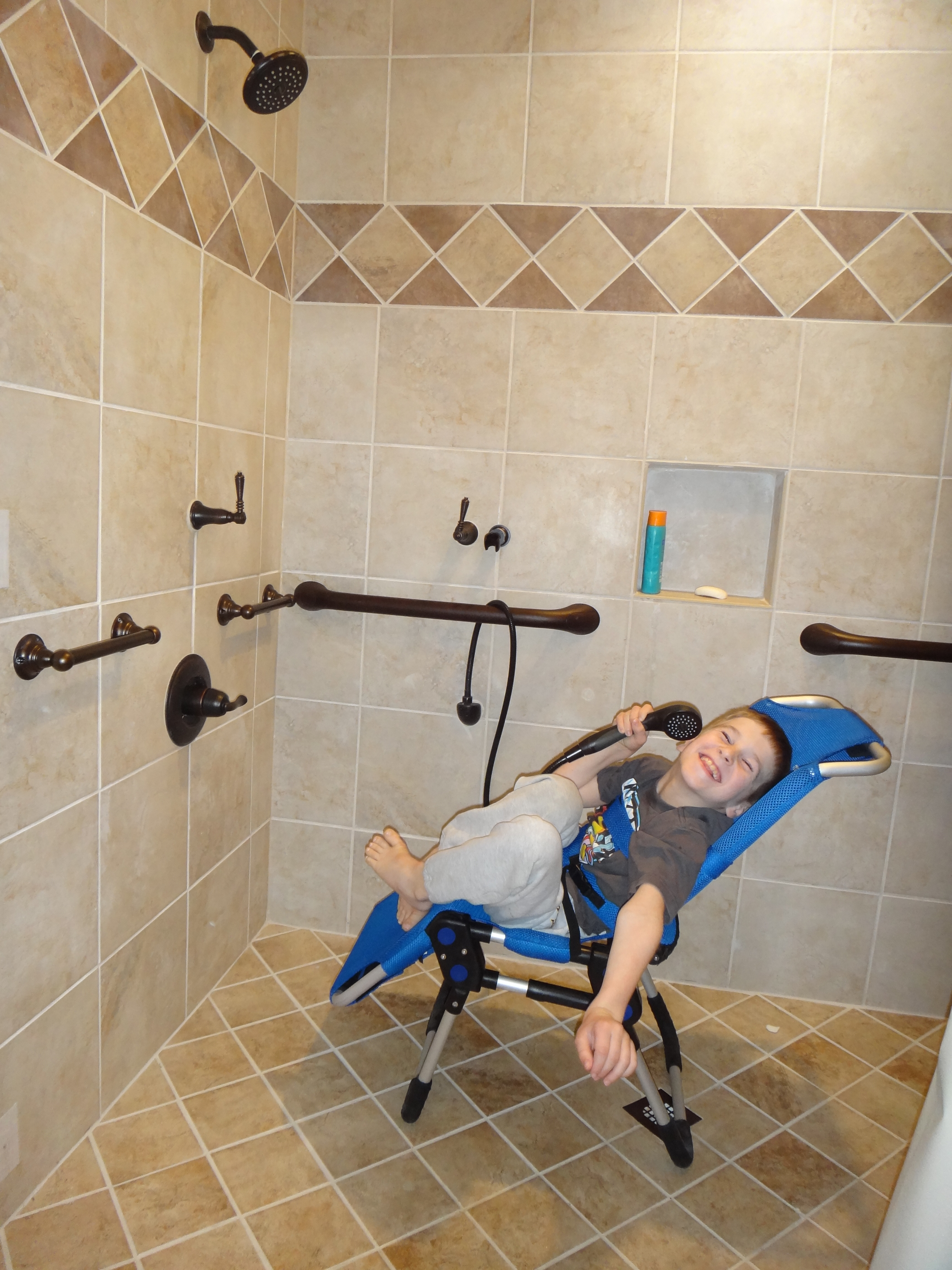 Shower Chairs For Disabled How We Remodeled Our Bathroom To Make It Accessible