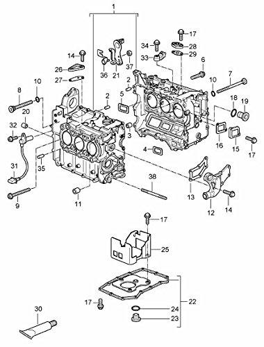 Porsche 900 123 106 30, Engine Oil Drain Plug Gasket