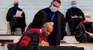 New Orleans Baptist Theological Seminary Holds Delayed Convocation