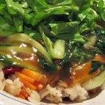野菜あんかけ炒飯