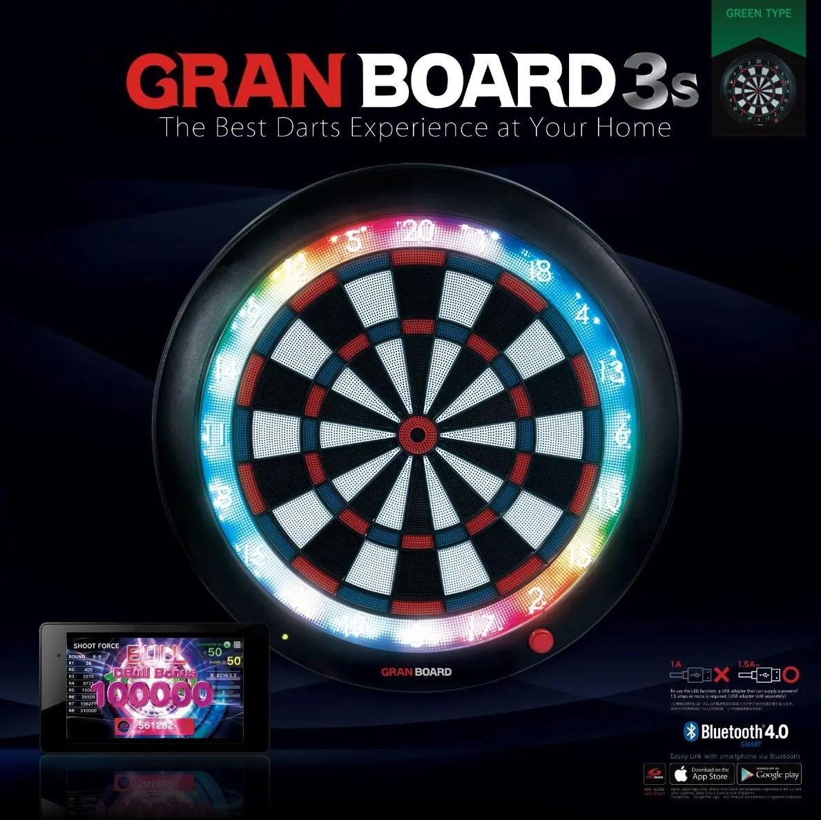Gran Board 3s (green) box