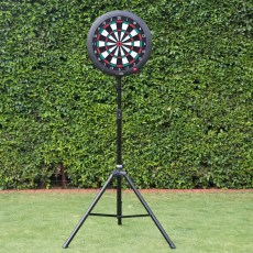 Portable dartboard stand for GranBoard