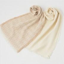 刺子織りストール(菱刺し)Mサイズ<br /> <