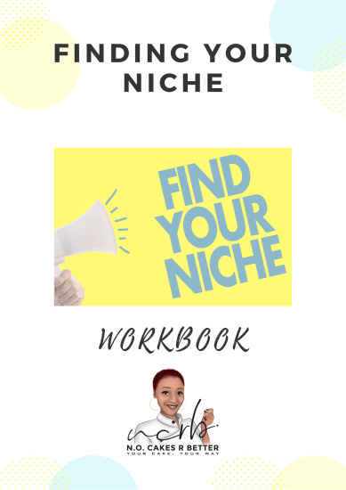 Finding your Niche Workbook Cover