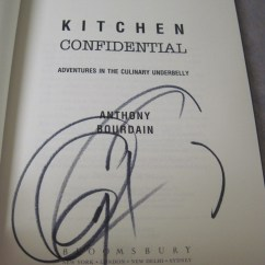 Kitchen Confidential Book Cottage Cabinets Anthony Bourdain And A Quadruple Chocolate Cake What More