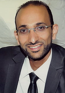 Salih Manasra, founder of Yafa Energy
