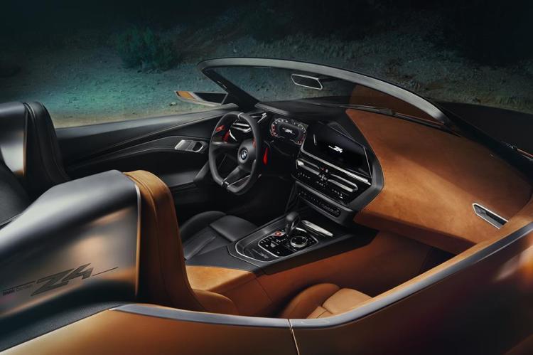 新型 BMW Z4 インテリア