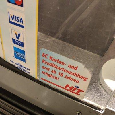 @paymentawards muss erst 18 werden, um bei HIT bezahlen zu dürfen.