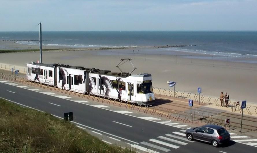Kusttram in Flandern: Kontaktloser Check-In statt Papiertickets bei De Lijn