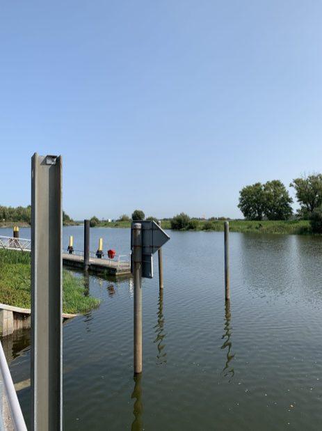 Blick auf den Oderkanal