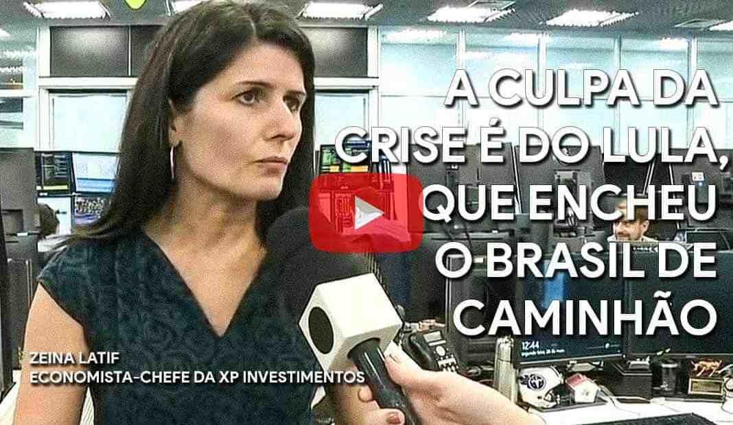 A culpa da crise é do Lula