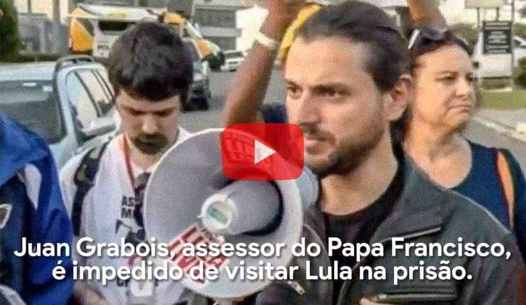 Assessor do Papa Francisco, é impedido de visitar Lula na prisão.