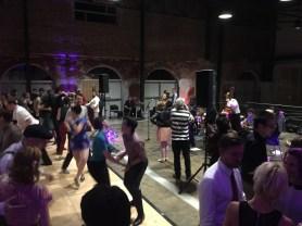 A swing dance festival in the Chevron Forum's Solomon Family Hall