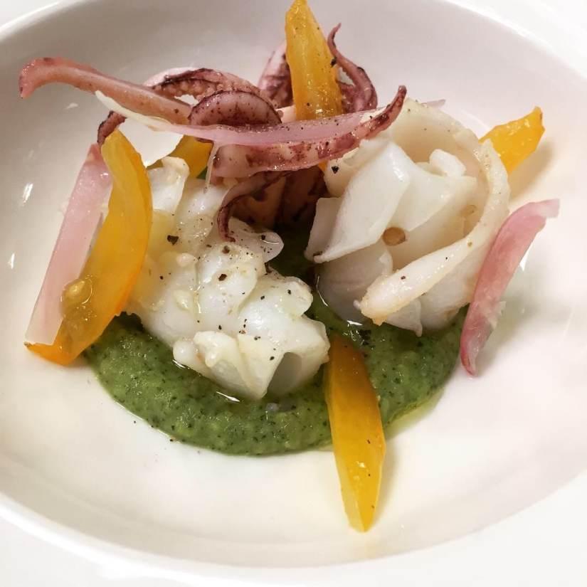 calamari al pepe