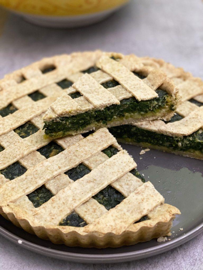 torta di spinaci senza ricotta
