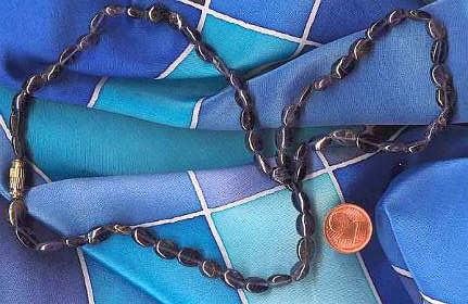 Blauquarz Halskette