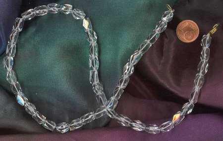 Bergkristall als Halskette