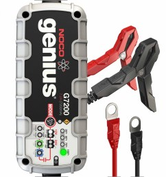 g7200 12v 24v 7 2a ultrasafe battery charger and maintainer [ 1440 x 1440 Pixel ]