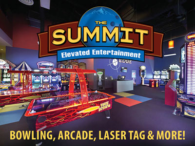 Bowling, Arcade, Laser Tag at The Summit