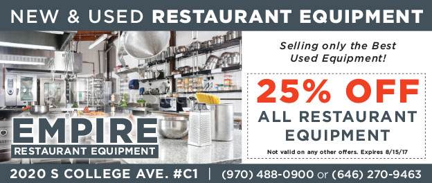 Empire Restaurant Equipment Coupon
